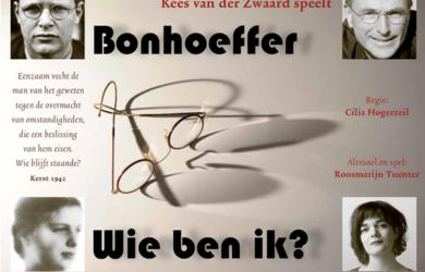 voorstelling over Bonhoeffer in de Kruiskerk in Roosendaal